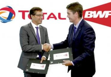 TOTAL Continues Partnership with BWF until 2021