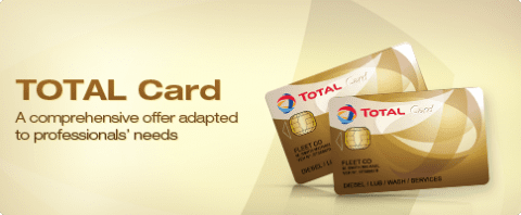 Total Card - A comprehensive offer adapted to professionals' needs